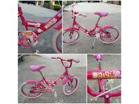 """Girls bike 18"""" wheels"""