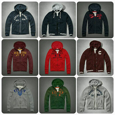New Hollister by Abercrombie Fitch Men's Hoodie Jacket Size : S M L XL XXL
