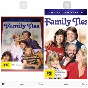 FAMILY TIES DVDS NEW SEASONS ONE AND TWO Rowville Knox Area Preview