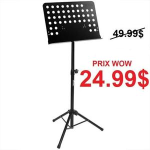 KeyBoard Stand - Speaker Stand - Music Stand - Guitar Stand - Micro Stand - Lutrin - Trépied pour Lumière - Tbar - Pole