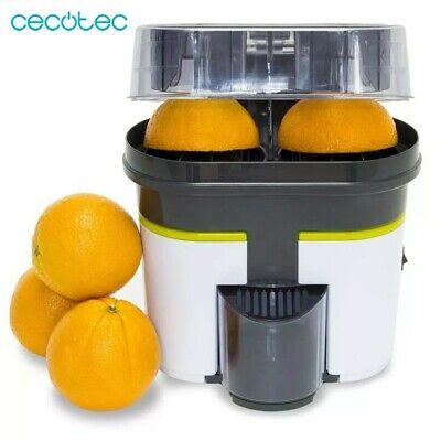 Cecotec Exprimidor de Naranja Eléctrica. Entrega Rápida 3 Días