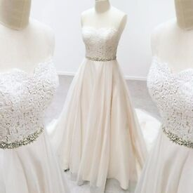 Wedding dress belle from wed2b size 12