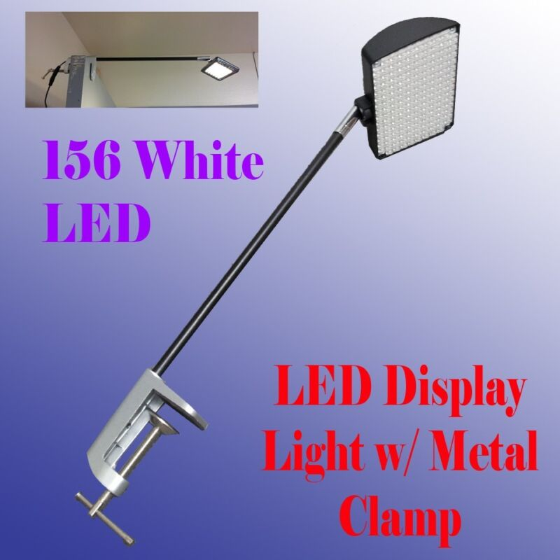 156 LED Display Light with Metal Clamp Las Vegas Approved Trade Show Booth Panel