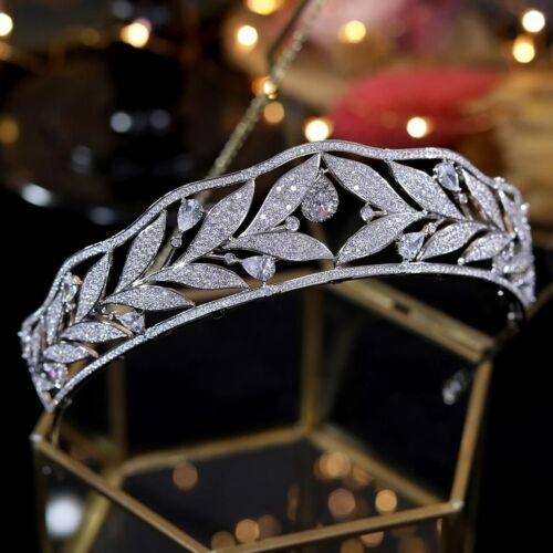 Gorgeous Brides Crystal Tiaras Crowns Headpieces Crystal Wedding Hair Accessory