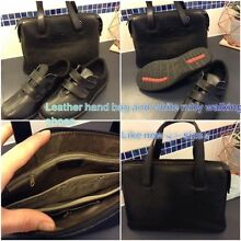 Ladies size 6 leather shoes and handbag like new McLaren Flat Morphett Vale Area Preview
