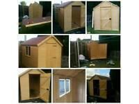 Timber shed .highest quality timber used . Solid timber . Delivery available