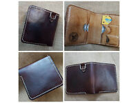 Wallet made of leather