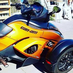 Can-am Spyder, Low mileage, Excellent condition, Reluctant Sale. Albany Albany Area Preview