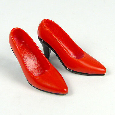 1-6-Scale-Kumik-ZC-Girls-TTL-Very-Cool-Female-Glossy-Red-High-Heel-Shoes