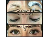 Home Based Salon, Russian volume lashes, Gel polish, Waxing