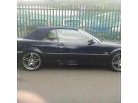 2001 blue bmw convertible