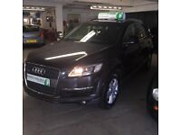 FINANCE AVAILABLE GOOD, BAD OR NO CREDIT**Audi Q7 3.0 TDI SE Quattro 5dr**