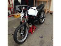 Suzuki gr 125 cafe racer project