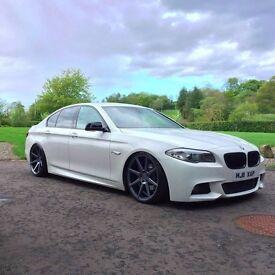 BMW F10 5 SERIES - 520D - M SPORT - FULL YEARS MOT – PX FOR E46 M3