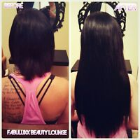 Premium Hair Extensions by a Certified Pro