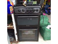 HOTPOINT GAS COOKER 12 MONTH OLD EXCELLENT CONDITION
