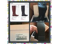 BNIB ladies knee high boots