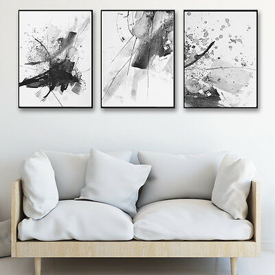 Nordic Realistic Abstract Art Canvas Poster Print Modern Home Wall Decor