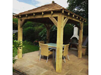 Gazebo ENGLISH OAK Framed Gazebo 3m x 3m