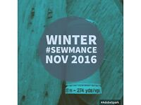 Winter SEWMANCE! Community, sewing festival.