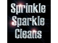 Sprinkle, Sparkle Cleans