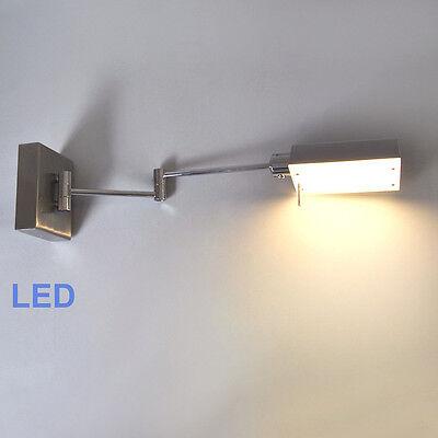 Wandleuchte LED 12W Gelenkarm Leselampe Sorpetaler Wandlampe dimmbar Tast-dimmer