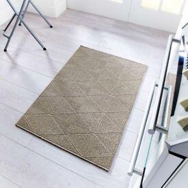 Gel backed mat