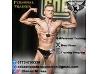 Edinburgh Personal Trainer, Personal Training, Meal Plan, Traning program.