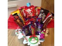 Wrapped Christmas Sweetie Hamper