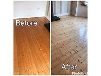 Wood floor sanding, polishing, restoration