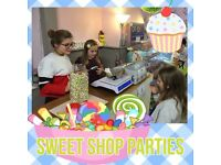 Sweet Shop Birthday Parties only £45