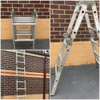 Ladder in excellent condition can fold up to small
