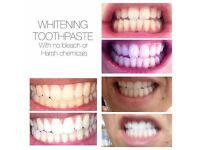 revolutionary whitening toothpaste