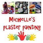 Michelle's Plaster Painting