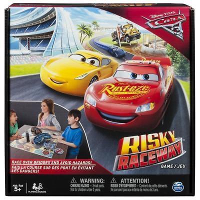 (Disney Pixar Cars 3 Risky Raceway Board Game, Spin Master, Lightning McQueen)