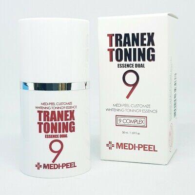 Medi Peel Tranex Toning Essence Dual 50ml Whitening Melasma Melanin K-Beauty