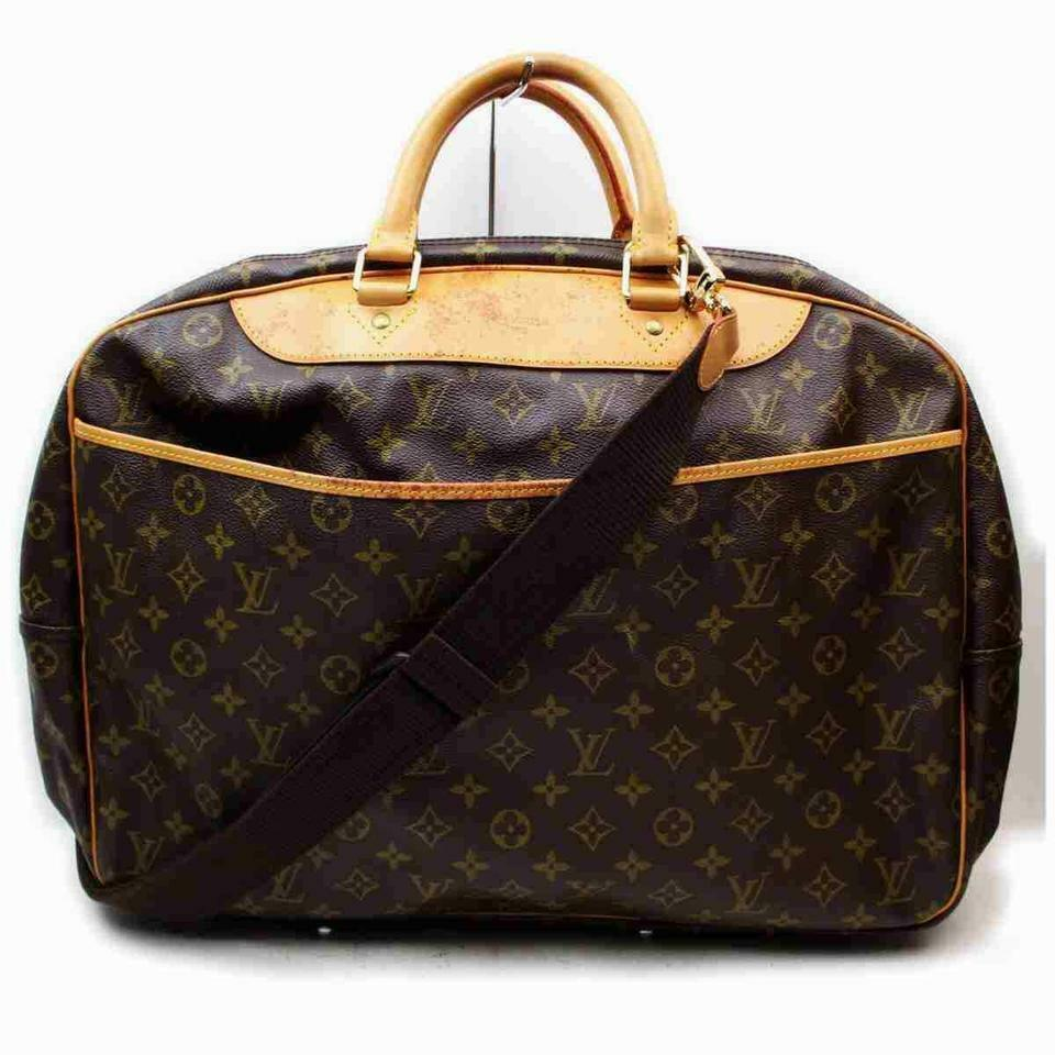 Louis Vuitton Alize 2 Poches Luggage Bandouliere Duffle with Strap 860519