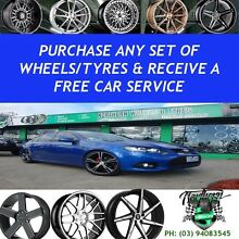 FREE CAR SERVICE - WITH ANY WHEEL PACKAGE PURCHASE Epping Whittlesea Area Preview