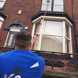 Window cleaning and jet washing services