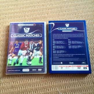 English premier league classics 5 disc dvd set collections Melbourne CBD Melbourne City Preview