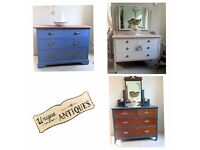 Chic & Unique Hand painted Chest of drawers and bedroom furniture