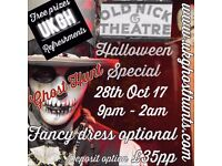 Halloween Ghost hunt at the old nick theater in gainsbrough