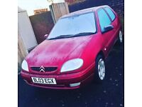 Saxo 1.1 for sale with mot