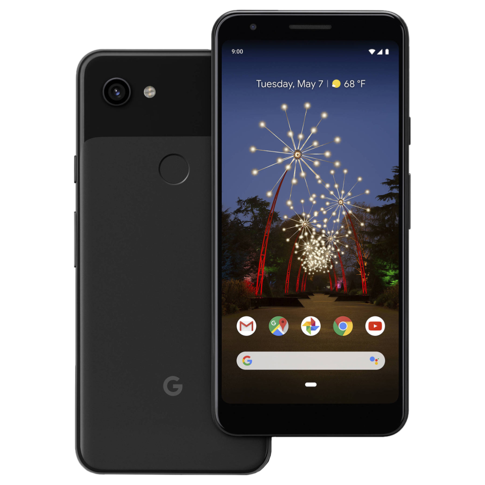 Android Phone - Google Pixel 3A - 64GB - Just Black - Fully Unlocked - (Single SIM) - Smartphone