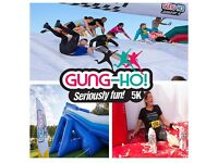 LEEDS GUNG HO 5K OBSTACLE RACE @ TEMPLE NEWSAM SAT 20th MAY 10 am half price £20