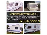 WANTED TOURERS ANY AGE MUST BE IN REASONABLE CONDITION AND DAMP FREE!! CASH PAID FROM £150-£3000!