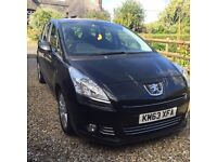 For sale Peugeot 5008 1.6HDi £10700.00 great 7 seater, family car.