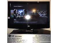 "LG 32LG3000 - 32"" Widescreen HD Ready LCD TV - With Freeview"