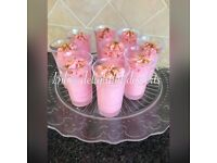 Mini desserts great for weddings