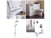 Full shower bathroom suite package by KARTELL